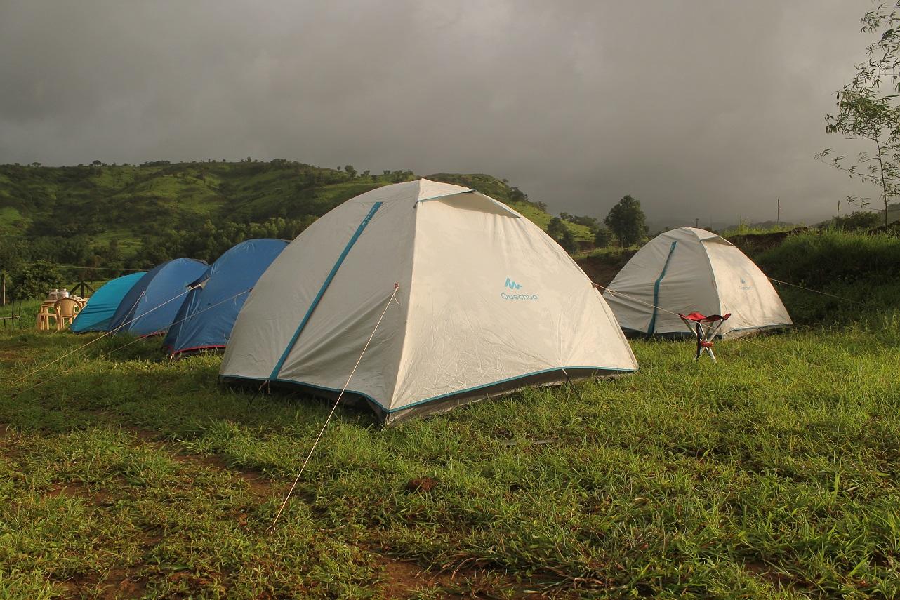 Monsoon camping