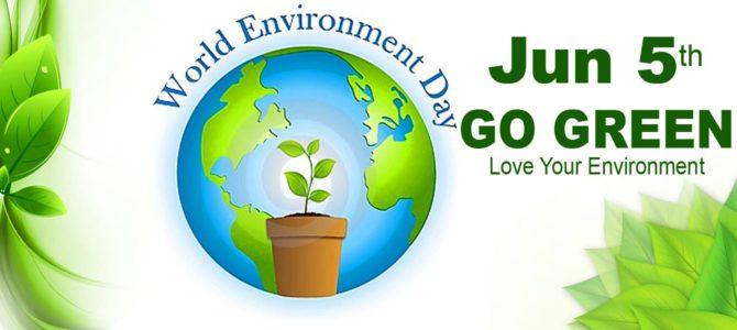 10 ways to celebrate World Environment Day