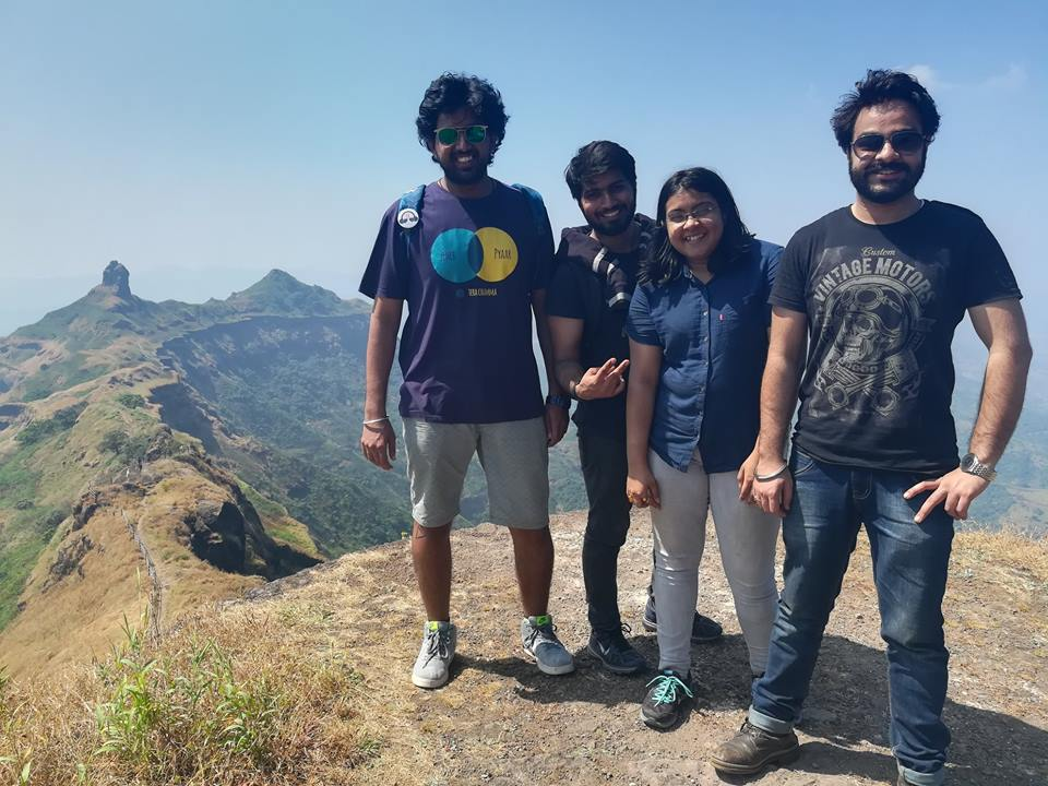 Torna Fort Camping near Pune