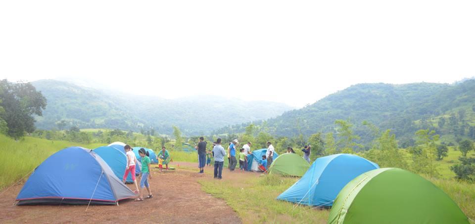 Monsoon Camping near Pune