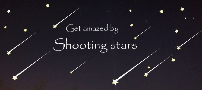 All about shooting stars & Meteor shower