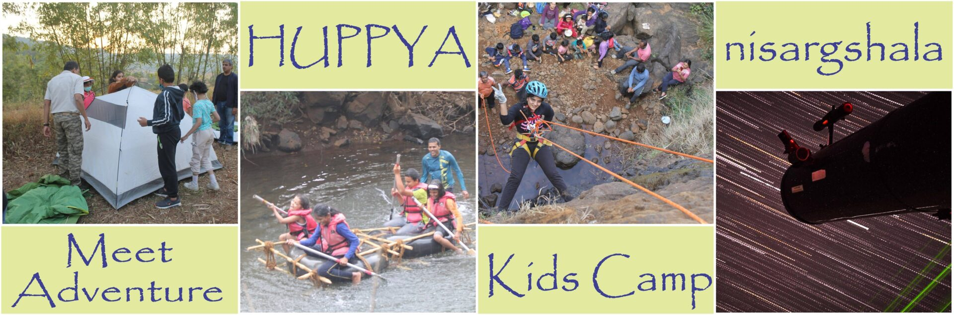 Adventure camp for kids in Pune